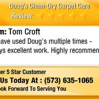 Photo taken at Doug's Chem-Dry Carpet Care by Doug's Chem-Dry Carpet Care on 1/3/2016
