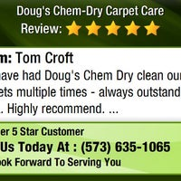 Photo taken at Doug's Chem-Dry Carpet Care by Doug's Chem-Dry Carpet Care on 12/31/2015