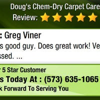 Photo taken at Doug's Chem-Dry Carpet Care by Doug's Chem-Dry Carpet Care on 1/27/2016