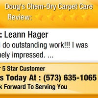 Photo taken at Doug's Chem-Dry Carpet Care by Doug's Chem-Dry Carpet Care on 1/9/2016