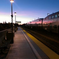 Photo taken at California Ave Caltrain Station by Andrew S. on 1/15/2013