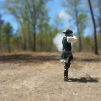 Photo taken at Kings Mountain National Military Park by Cody M. on 4/13/2013