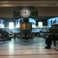 Photo taken at South Station Terminal (MBTA / Amtrak) by Sean W. on 12/8/2012