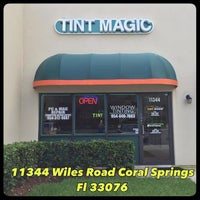 Photo taken at Tint Magic Window Tinting Coral Springs by Tint M. on 1/11/2016