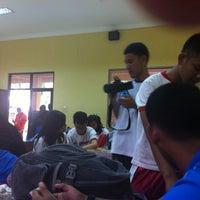 Photo taken at SMA Negeri 8 Malang by Zee L. on 9/9/2015