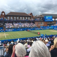 Photo taken at Queen's Club by Paul T. on 6/24/2017