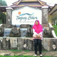 Photo taken at Tanjung Bidara Beach Resort by Zainul Farhain Z. on 11/28/2015
