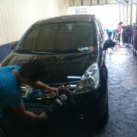 Photo taken at Miracle Car Wash by Greg R. on 6/21/2014