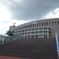 Photo taken at Fukuoka Yahuoku! Dome by muragin1029 on 7/13/2013
