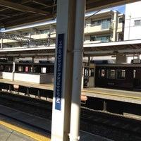 Photo taken at Hibarigaoka-hanayashiki Station (HK51) by muragin1029 on 10/26/2012