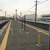 Photo taken at 丹波口駅 (Tambaguchi Sta.) by muragin1029 on 1/21/2013
