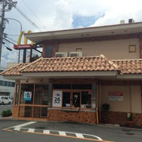 Photo taken at マクドナルド 竹田街道店 by muragin1029 on 8/22/2013