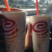 Photo taken at Jamba Juice Crossroads Towne Center by Flor D. on 1/26/2014