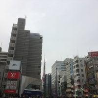 Photo taken at 大門交差点 by kotoshimo on 4/10/2017