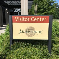 Photo taken at Jamestowne Visitor Center by Colin L. on 7/17/2016