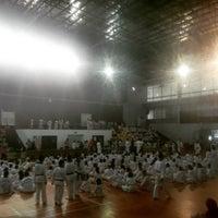 Photo taken at Gor Cempaka Putih by Repsy D. on 9/18/2016