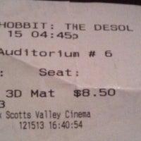 Photo taken at CineLux Scotts Valley Cinema by Morgan C. on 12/16/2013