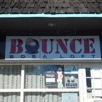 Photo taken at Bounce Boba Loft by Sandra F. on 1/31/2013