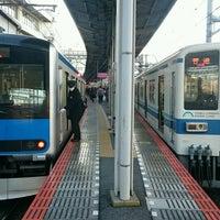 Photo taken at 東武大宮駅 1-2番線ホーム by 直通急行 ゆ. on 12/17/2016