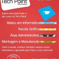Photo taken at Tech Point Informática by Tiago T. on 3/1/2014