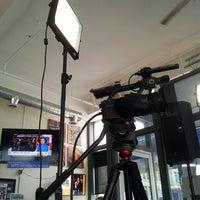 Photo taken at Winnipeg Free Press News Café by Ben R. on 4/12/2013