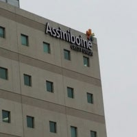 Photo taken at Assiniboine Credit Union by Ben R. on 11/8/2013