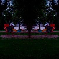 Photo taken at Kingston Park by Ben R. on 7/29/2013