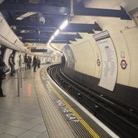 Photo taken at Embankment London Underground Station by Phil R. on 10/29/2012