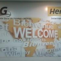 Photo taken at Hertz Internacional by Milton G. on 1/18/2013
