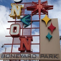 Photo taken at The Neon Museum by Ali T. on 3/9/2013