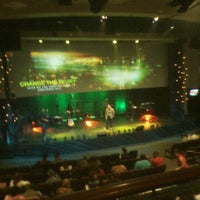 Photo taken at Word Of Life Christian Center by Lorin T. on 9/16/2012