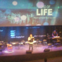 Photo taken at Word Of Life Christian Center by Lorin T. on 3/24/2013