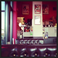 Photo taken at The Bad Waitress Diner & Coffee Shop by Andrew H. on 1/10/2013