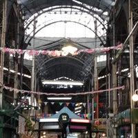 Photo taken at Mercado de San Telmo by Emi V. on 10/25/2012