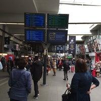 Photo taken at Paris Montparnasse Railway Station by Emi V. on 10/3/2015
