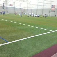 Photo taken at Ultimate Soccer Arena by Richard O. on 11/23/2012