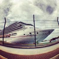 Photo taken at Embarcadero Marina Vallarta by Javier M. on 10/17/2012