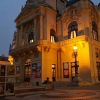 Photo taken at Színház tér by Hikaru S. on 11/27/2015