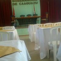 Photo taken at Gobernación  V departamento Caaguazú by Jorge Arnaldo F. on 4/24/2015