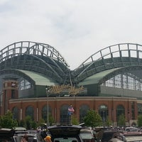 Photo taken at Miller Park by Nicole M. on 5/26/2013
