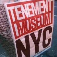 Photo taken at Lower East Side Tenement Museum by Candy P. on 10/26/2012