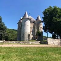 Photo taken at Château des Tourelles by Farah R. on 6/26/2018