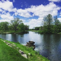 Photo taken at Cantigny Golf Course & Clubhouse by Eric F. on 5/16/2016