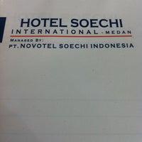 Photo taken at Hotel Soechi International by Shaula A. on 12/6/2012