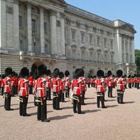 Photo taken at Buckingham Palace by Paula S. on 7/17/2013