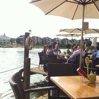 Photo taken at The Riverside Terrace by Daniel on 9/13/2014