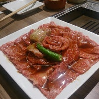 Photo taken at 俺の焼肉 銀座9丁目店 by Tetsuro T. on 9/9/2014