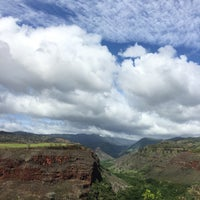 Photo taken at Hanapepe Canyon Lookout by Richard S. on 10/29/2016