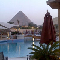 Photo taken at Le Méridien Pyramids Hotel & Spa by Rima B. on 3/6/2013