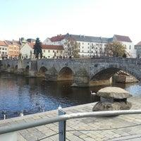 Photo taken at Stone bridge by Jaroslav M. on 11/9/2012